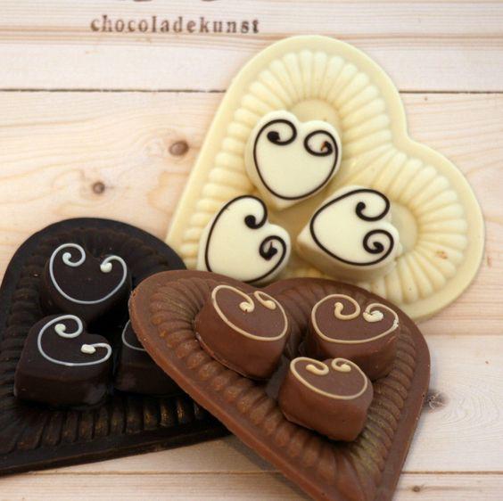 Chocolade harten.