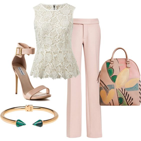 """""""Pretty in Pink"""" by shellytot on Polyvore"""