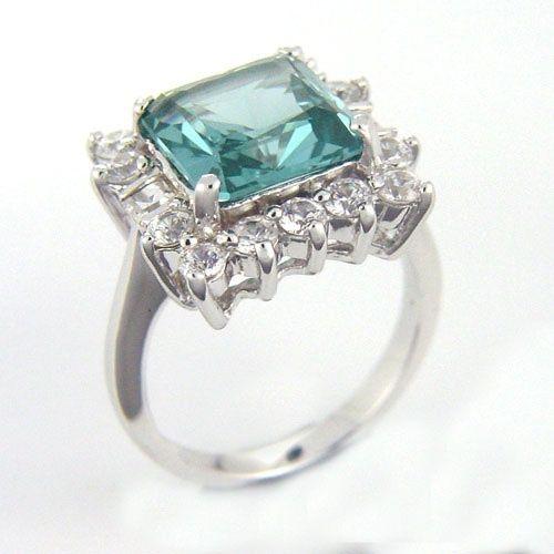 Marlene Dietrich's incredible Aquamarine and Diamonds Ring