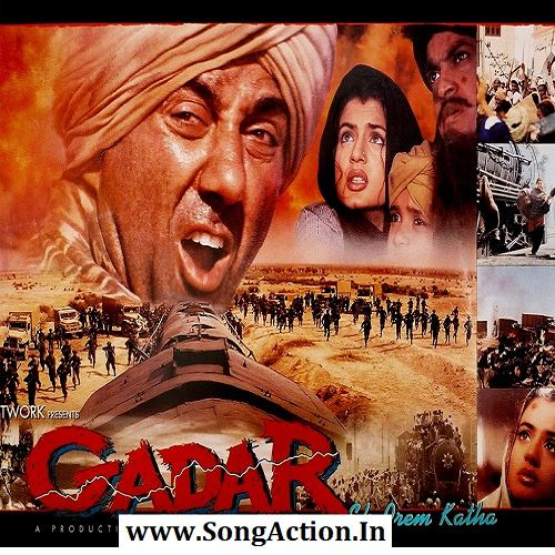Gadar Ek Prem Katha In 2020 Mp3 Song Mp3 Song Download Songs