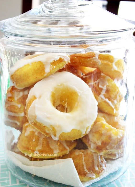 10-minute lemon donuts - made with a cake mix, lemon pudding and vanilla yogurt!