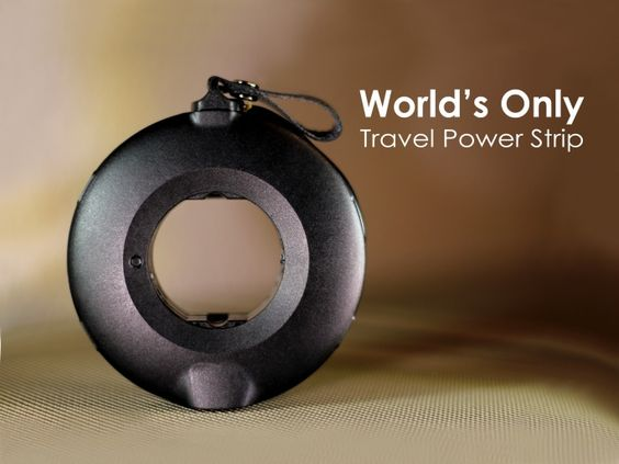 MOGICS Power Donut & Bagel is the world's first and only #travel #powerstrip. It solves the problem of insufficient power sources and bulky equipments for #travelers, simultaneously adapting to different socket types around the world. #JDA2016 #Singapore