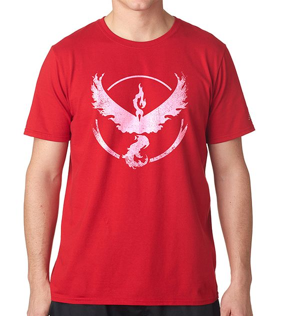 Camiseta Pokemon Go Team Valor