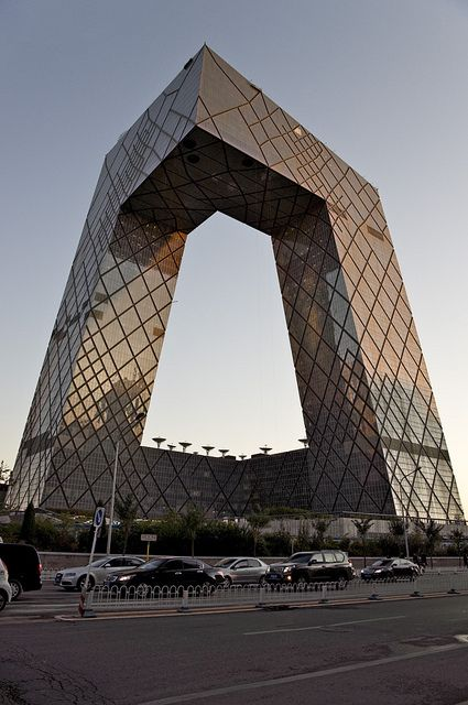 CCTV building - Beijing, China - via rudenoon