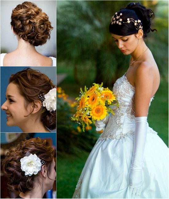 Curly hair extensions can make you look charming enough in your sweet and romantic curly hairstyle for bride with real hair extensions clip on pmusecretfo Choice Image