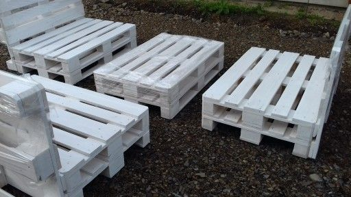 Ogrodowe Meble Z Palet Euro 2400x3200 7257353731 Oficjalne Archiwum Allegro Wood Diy Crafts
