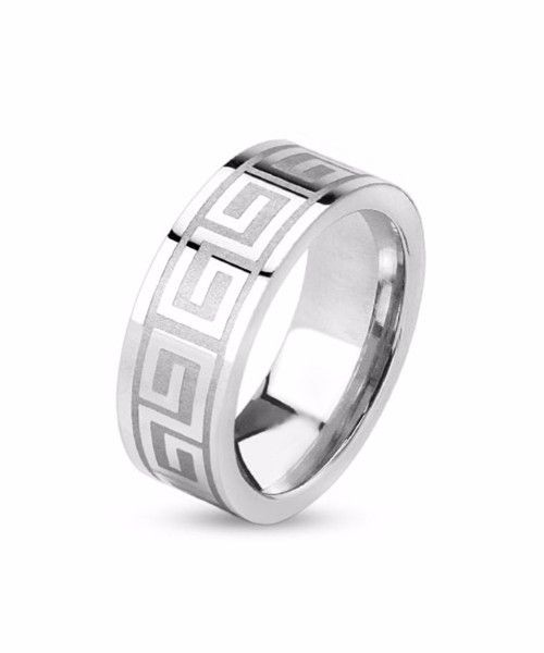 The Greek Ring in Silver