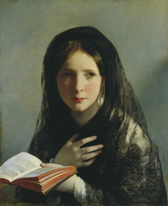 "The Arts on Twitter: ""Friedrich von Amerling 🎨 In Träumen versunken, 1835 🎼♪♫https://t.co/0M2J8Gr0BD Fanny Mendelssohn ♪ https://t.co/Mqpcf2vyDq"""