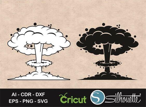 Nuclear Explosion Nuke Explosion Nuclear Bomb Svg Bomb Etsy In 2021 Explosion Drawing Nuclear Bomb Explosion