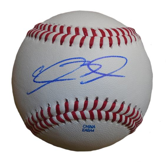 SF Giants Clayton Blackburn signed Rawlings ROLB leather baseball w/ proof photo.  Proof photo of Clayton signing will be included with your purchase along with a COA issued from Southwestconnection-Memorabilia, guaranteeing the item to pass authentication services from PSA/DNA or JSA. Free USPS shipping. www.AutographedwithProof.com is your one stop for autographed collectibles from San Francisco Bay Area Sports teams. Check back with us often, as we are always obtaining new items.