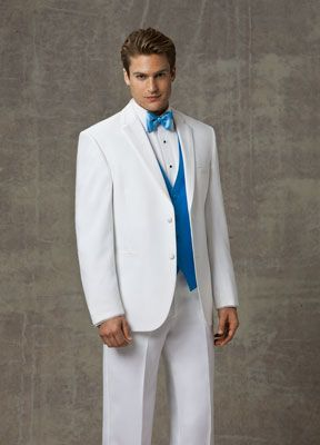 www.gardennearthegreen.com White Tuxedos for Weddings | Lord West - White Eton item#: white-eton-lw