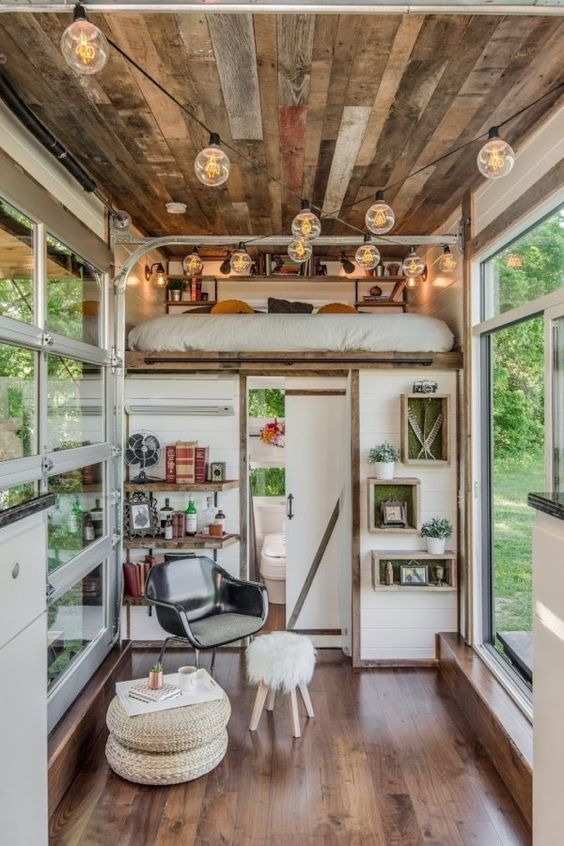 Amazing Alpha Tiny House 0023 Garage Door Is Great Idea Dont Know How It Largest Home Design Picture Inspirations Pitcheantrous