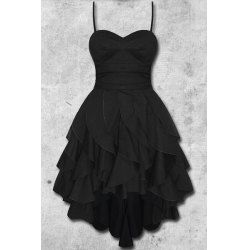 Stylish Scoop Neck Polka Dot Print Short Sleeve Dress For Women | TwinkleDeals.com