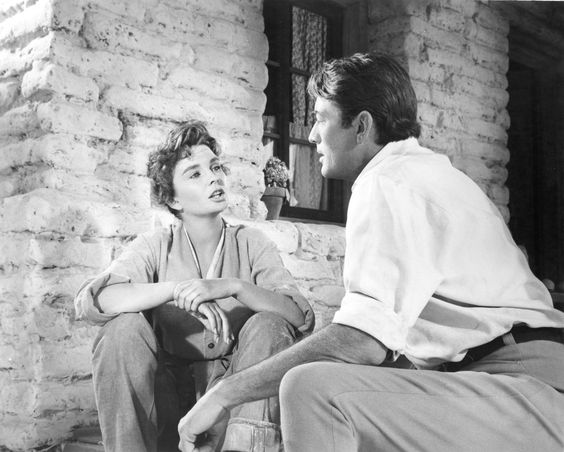 The Big Country (1958) - Jean Simmons & Gregory Peck