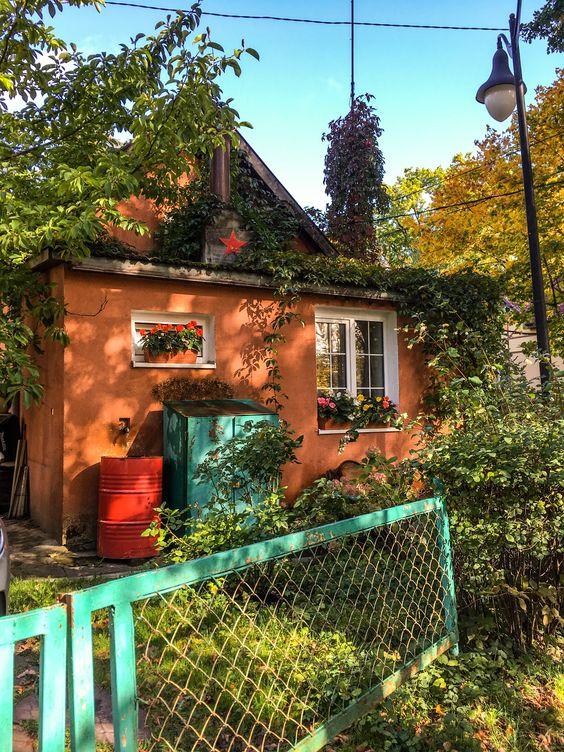 Милый домик в Светлогорске. Фото Жени Шведы