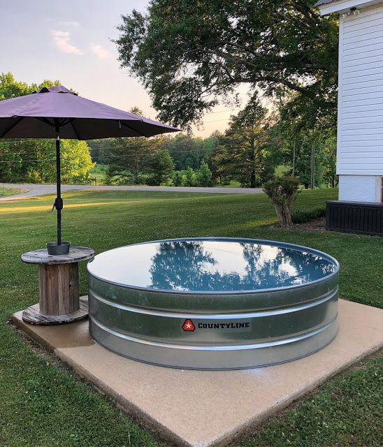 Little White House Blog Baker Makes It Big And Stock Tank Pool Info Tank Pool Stock Tank Pool Stock Tank Swimming Pool