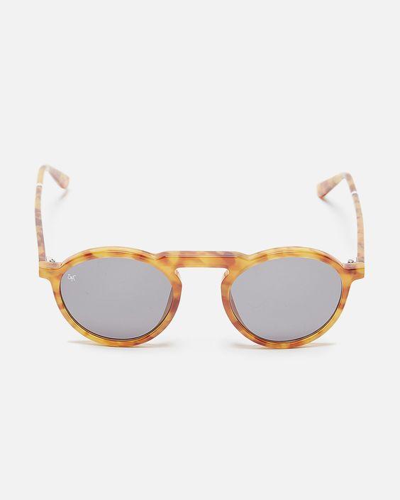 Letter Sunglasses in Ginger Glam