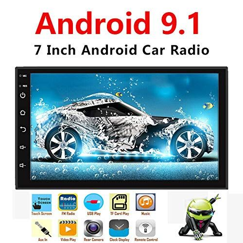 Binize Android 9 1 7 Inch Hd Quad Core 2 Din Car Stereo Radio Multimedia Player No Dvd Gps Navigation In Dash Autoradio Bluetooth Usb Wifi 2g Ram 16g Rom Android Car Stereo Touch Screen Car Stereo