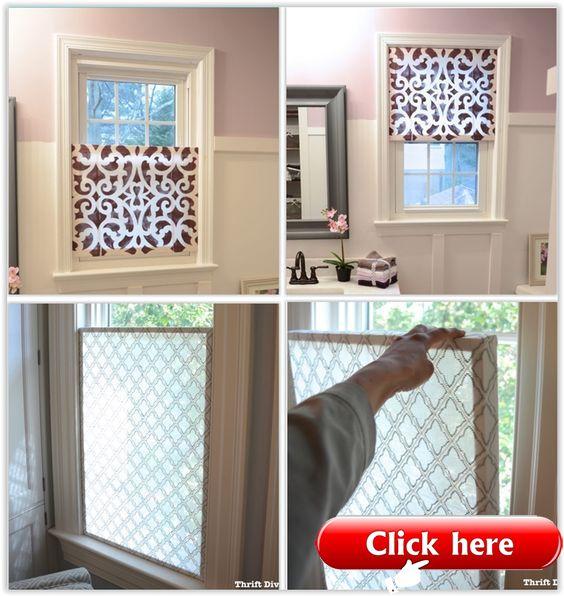 Wie erstelle ich ein hübsches DIY-Fenster? - Sichtschutz  Fenster