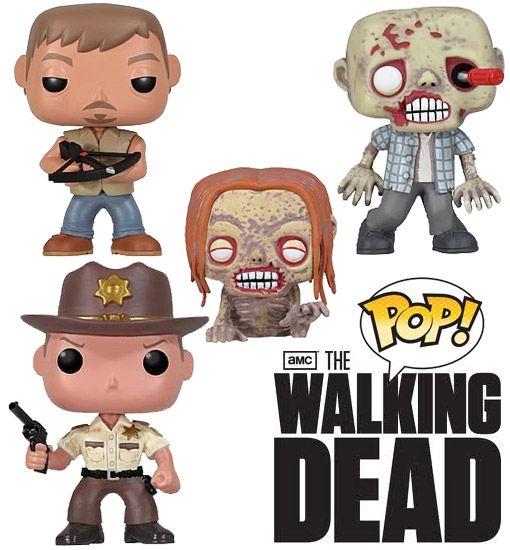 The Walking Dead lança novos bonecos da série ~ Rei das Séries