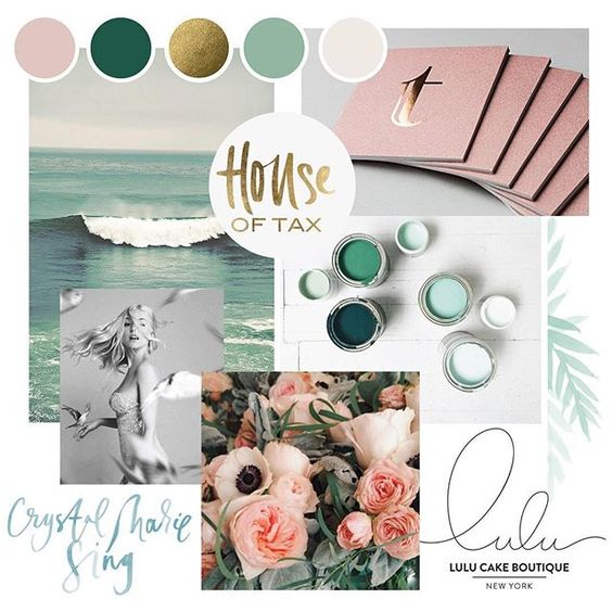 feminine, coastal vibe #moodboard for our a branding client ✨ #moodboardmonday