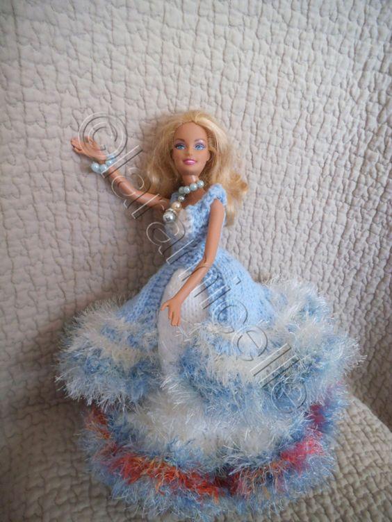 tuto gratuit barbie: robe princesse Iridia - laramicelle