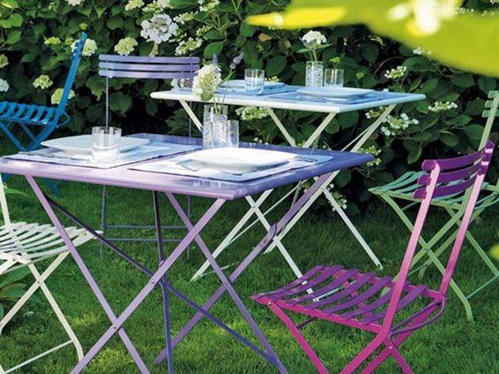 Sedie Da Giardino In Ferro : Tavoli e sedie da giardino in ferro rossi angera