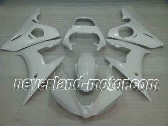 YAMAHA YZF-R6 2003 ABS Verkleidung - Alle Weiß #yamahayzfr6verkleidung #r6verkleidung