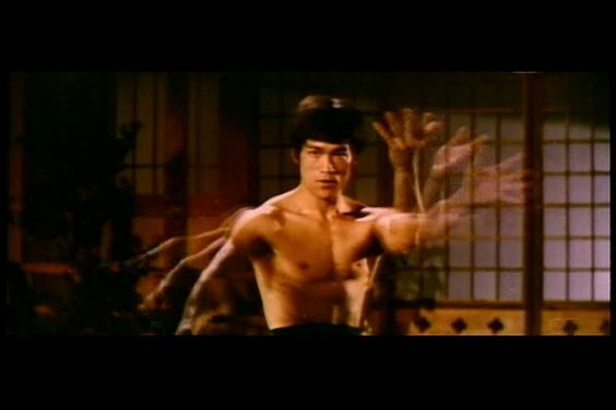 "Bruce Lee in ""Chinese Connection"" (1972)"
