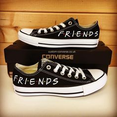 Friends Low Tops converse | Shoes in 2019 | Cute converse