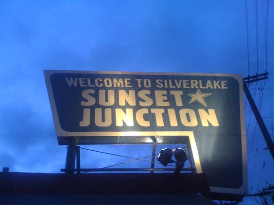 Sunset Junction Los Angeles CA