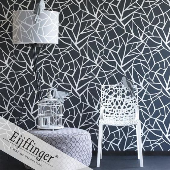 Eijffinger wallpaper, Black & White Collection.  On Sale was $258.00 now $199.00 per roll. Murrays Interiors / Murrays Interiors