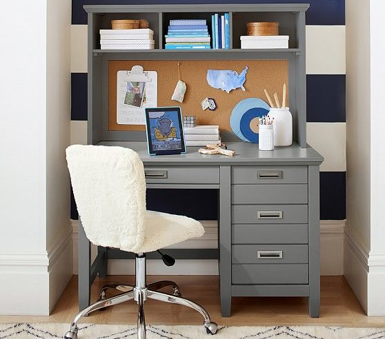Decorator Single Shelf Pottery Barn Kids Kid And Gray Desk
