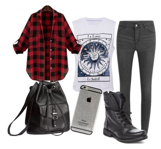 """Hipster Outfit"" by hipster-mermaid ❤ liked on Polyvore featuring Cheap Monday, H&M, Steve Madden, Hipster, tumblr, grunge and teenager:"