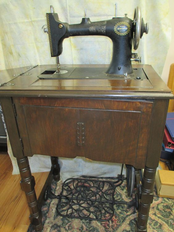 damascus treadle sewing machine value