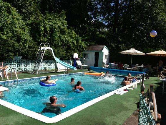 The Poolside at 90 A!
