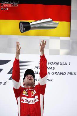 Sebastian Vettel (Ferrari) Malaysian Grand Prix