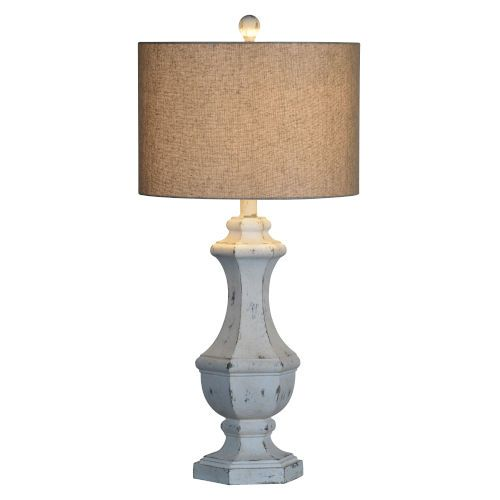 Forty West Joanna Cottage White One Light 35 Inch Table Lamp 710142 Bellacor In 2021 Table Lamp Lamp Nickel Table Lamps