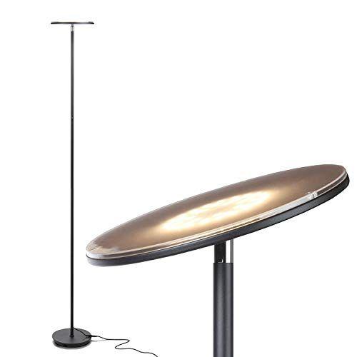 Floor Lamp, LED Torchiere Floor lamp, Tall Standing Uplight
