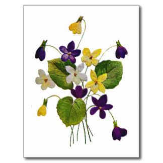 Image from http://rlv.zcache.com/assorted_wild_violets_done_in_crewel_embroidery_postcard-r104fa98e944a4ad5a0904e8c9aabed89_vgbaq_8byvr_324.jpg.