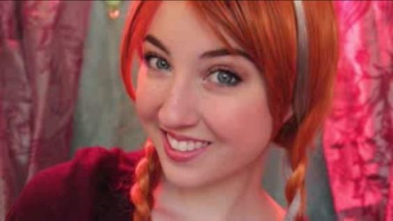 Anna hair and makeup