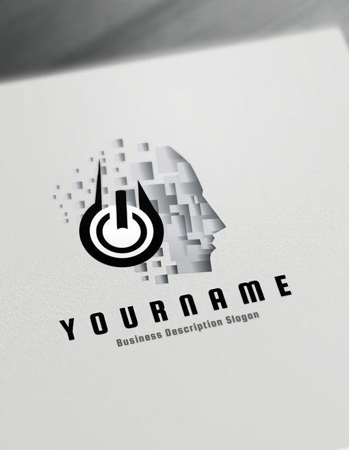 Music Logo Maker Online Create A Logo D J Logos Online Logo Design Online Logo Design Dj Logo Logo Design Free Templates