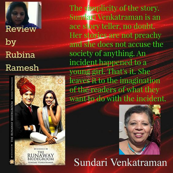 #TheRunawayBridegroom by Sundari Venkatraman reviewed by Rubina Ramesh #thebookclub #blogtour  http://www.rubinaramesh.com/2014/10/the-runaway-bridegroom-by-sundari.html