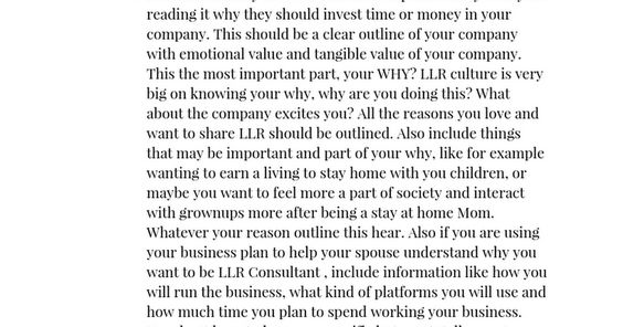 Lularoe Business Plan Of Jane Smith Executive Summary A Short