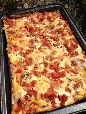 Cuisine Ma-Ligne!: Tarte Thon tomates ww 6pp