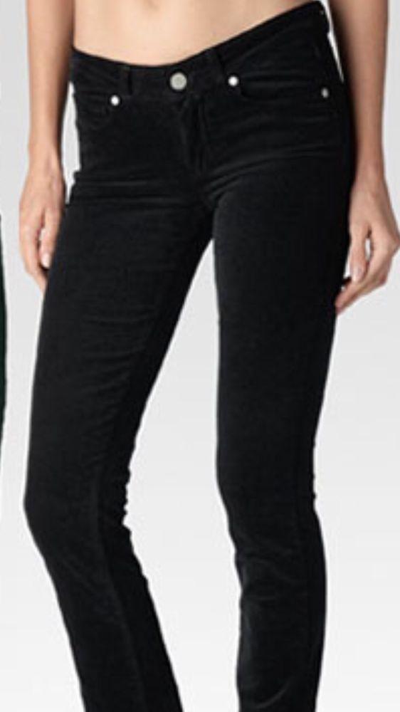 Michael Kors Straight Leg Women's Luxurious Black Corduroys Sz 6 X 33 NWT $90 #MichaelKors #Corduroys
