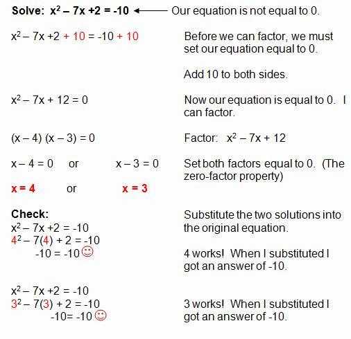 Solving Polynomial Equations Worksheet Answers Fresh Factoring Quadratic Equations Quadratics Quadratic Equation Factoring Polynomials Polynomials worksheets with answers