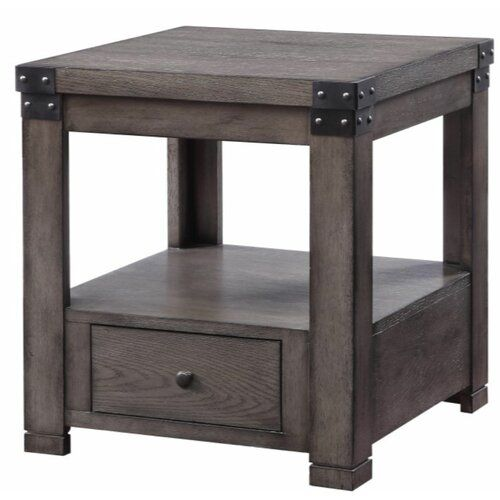 New Darley End Table Storage Loon Peak Online Shopping Seetopstar In 2020 End Tables With Storage Marble Top End Tables End Tables