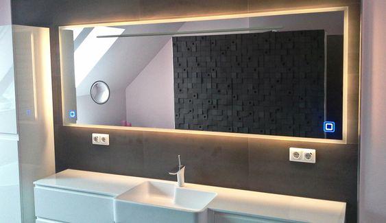 Fertigung von Badspiegel nach Maß inkl Montage in Dresden, Pirna - badezimmerspiegel nach mass