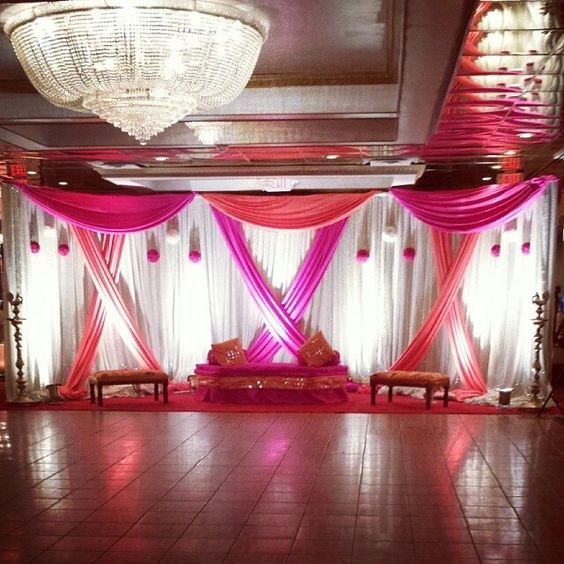 Indian Wedding Themes Ideas: Sangeet Wedding Decor. , Indian Wedding Decor